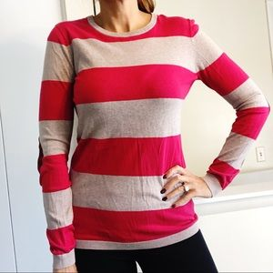 Old Navy Large TALL Elbow Patch Sweater